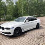 BMW 3M lasien tummennus