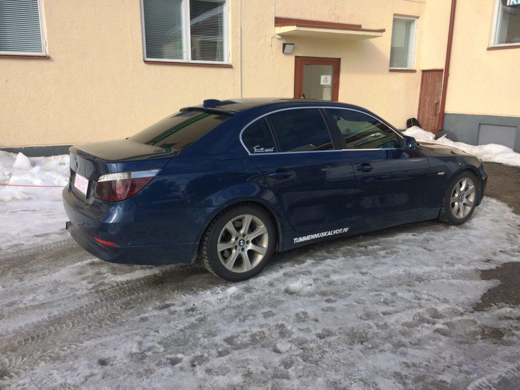 BMW lasien kalvotus
