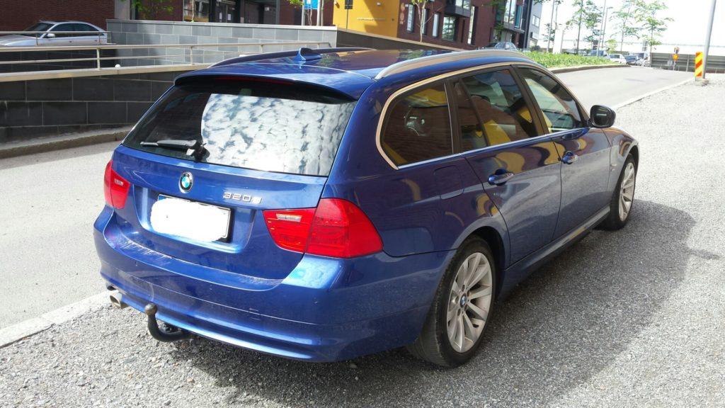 BMW Llumar ATR 20% tummennuskalvo