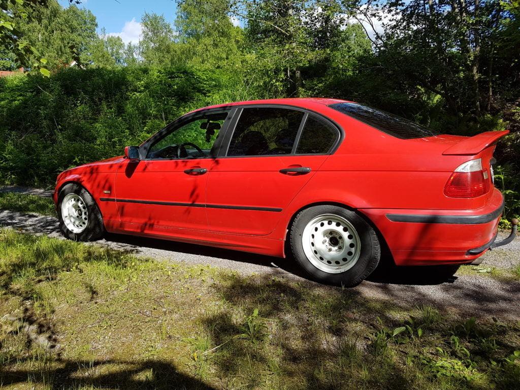 BMW 3M tummennuskalvot