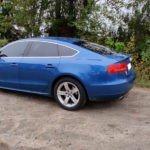Audi A5 tummennuskalvot