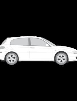 Alfa Romeo 147 5-ovinen tummennuskalvot