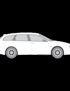 Alfa Romeo 156 Station Wagon tummennuskalvo