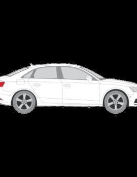 Audi A3 Sedan tummennuskalvot