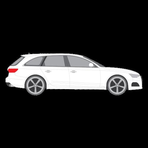 Audi A4 Avant tummennuskalvot