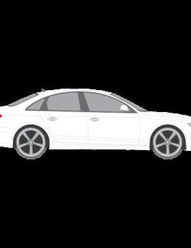 Audi A4 Sedan auringonsuojakalvot