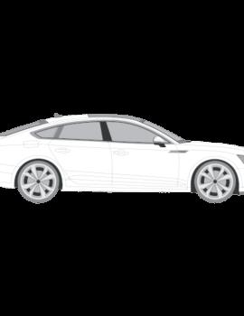 Audi A5 Sportback auringonsuojakalvo