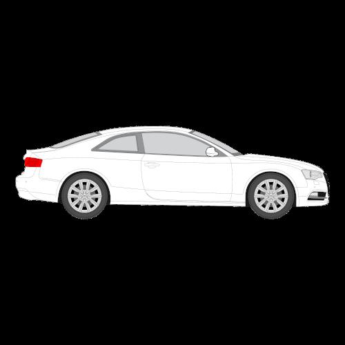 Audi A5 Coupe/Hatchback tummennuskalvo