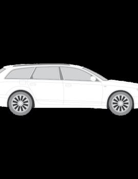 Audi A6 Avant auringonsuojakalvot