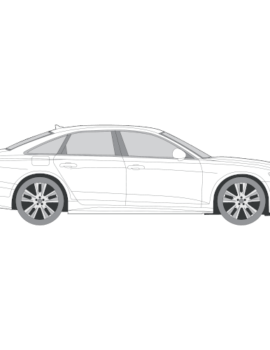 Audi A6 Sedan tummennuskalvo