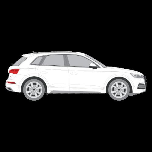 Audi Q5 tummennuskalvo