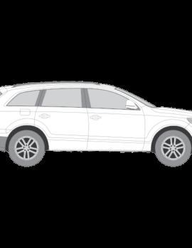 Audi Q7 tummennuskalvot