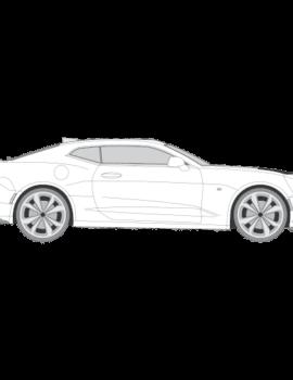 Chevrolet Camaro tummennuskalvot