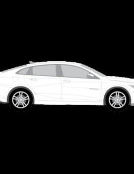 Chevrolet Malibu Sedan tummennuskalvot