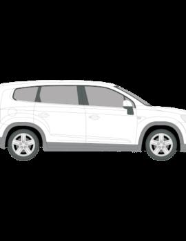 Chevrolet Orlando tummennuskalvot