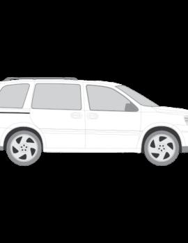 Chevrolet Uplander LS tummennuskalvot