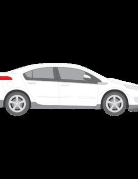 Chevrolet Volt tummennuskalvot