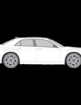 Chrysler 300C tummennuskalvot