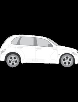 Chrysler PT Cruiser tummennuskalvot