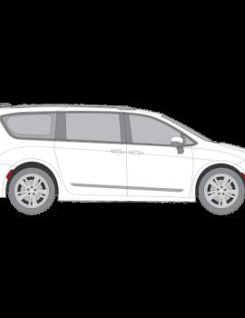 Chrysler Pacifica auringonsuojakalvot