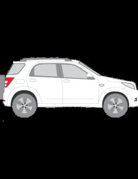 Daihatsu Terios muotoonleikatut