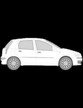 Fiat Punto muotoonleikatut