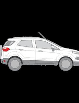 Ford Ecosport aurinkosuojat