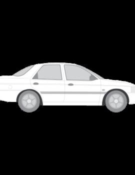 Ford Escort porrasperä
