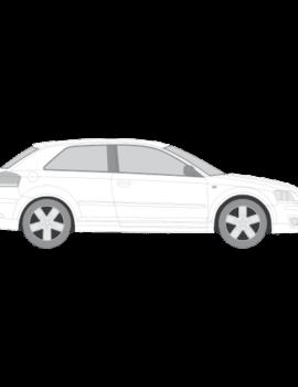 Audi A3 ikkunakalvot