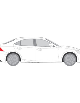 Lexus IS-sarjan sedan
