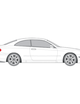 Mercedes-Benz CLK 3-ovinen