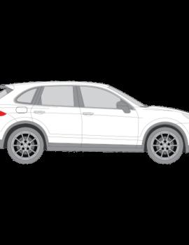 Porsche Cayenne katumaasturi